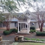 This is the front entrance to the big guest house at http://www.rayscottbassretreat.com/
