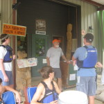 Lonnie Carden gives safety talk at Coosa Outdoor Center