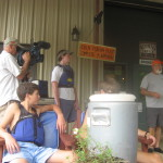 Pre-kayaking safety speach with Coosa Outdoors Center