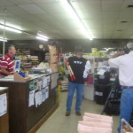 Don Day opening the Show at Seed Processors, Wetumpka, AL