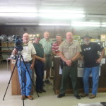 Here's a group shot from the BKM Outdoors shoot. Curt Gantt, Brian Keith, Seth, Steve, Warden Keith Mann, Don Day